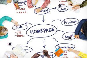 Homepage Computer Degital Internet Technology Concept