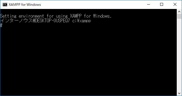 PHP XAMPP セキュリティ 4